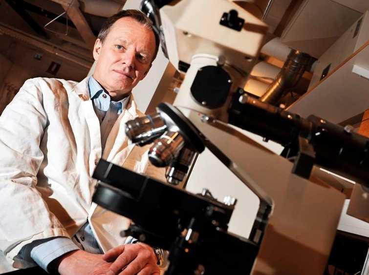 Svenske virusexperten Bo Niklasson.