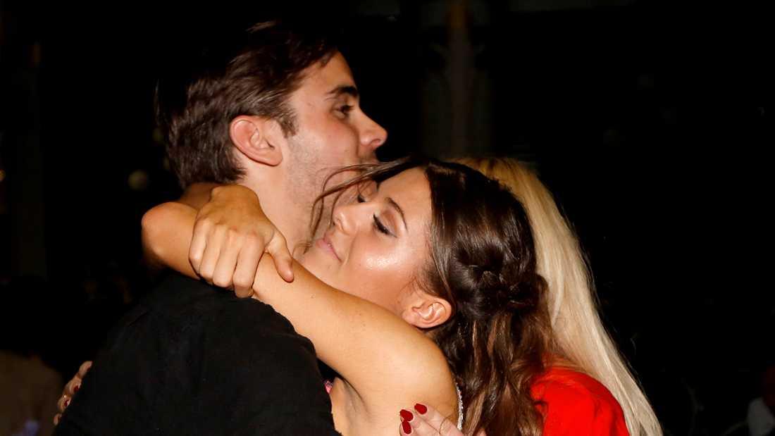 Bianca Ingrosso med Phillipe Cohen, som hon haft ett av- och på-förhållande med senaste åren.