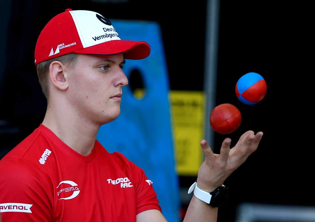 Michael Schumachers son nära Formel 1