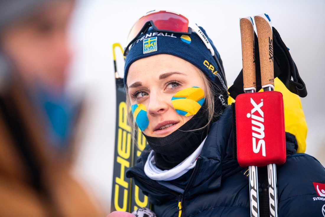 Stina Nilsson byter sport.