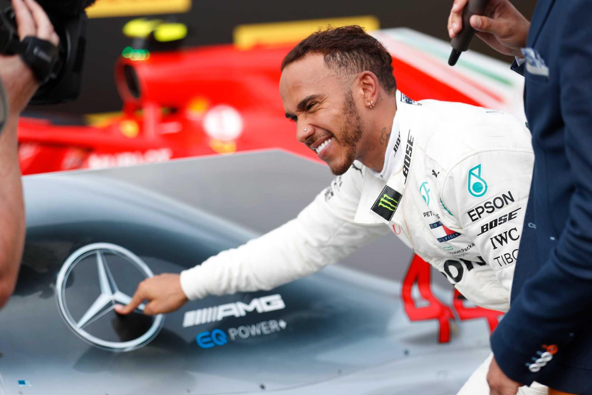 Lewis Hamilton kör F1 för Mercedes 2019 och 2020