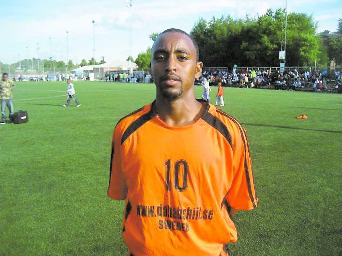 """Ahmed Ibrahim Ali kallades """"Romario"""" – efter den brasilianske fotbollsstjärnan."""
