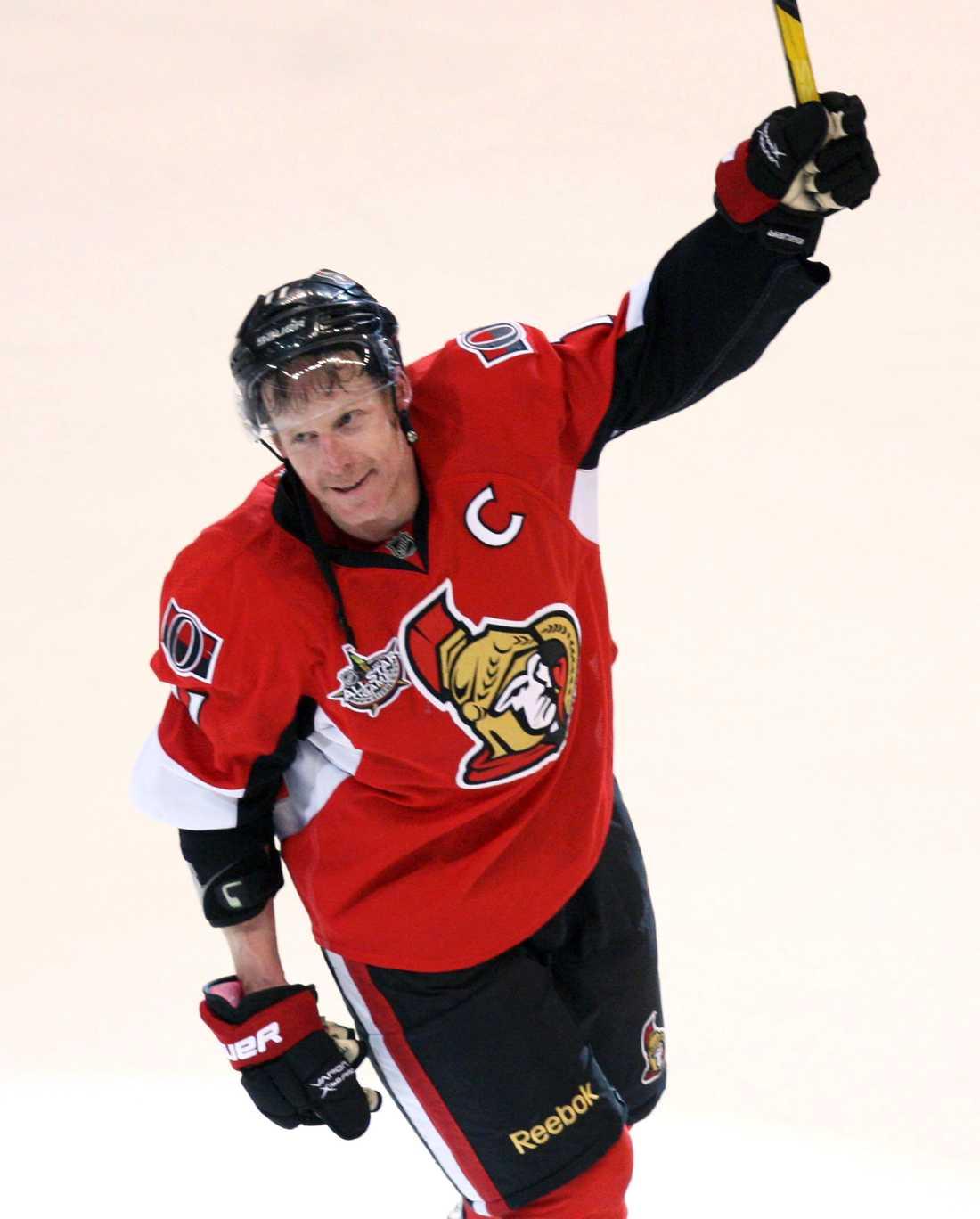 """""""Alfie"""" var under många år hyllad lagkapten i Ottawa."""