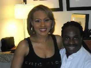 Miss Wanda Dee och maken Eric Floyd