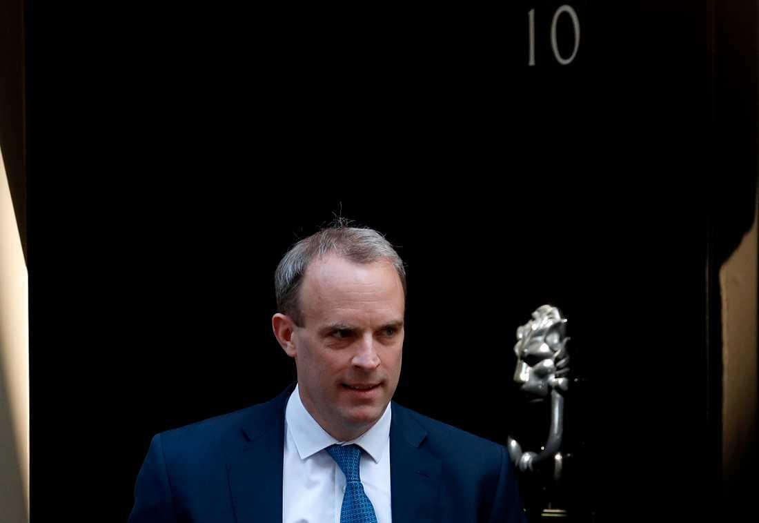 """Det är """"nästan säkert"""" att ryska aktörer försökte påverka det brittiska valet 2019, enligt utrikesminister Dominic Raab. Arkivbild."""