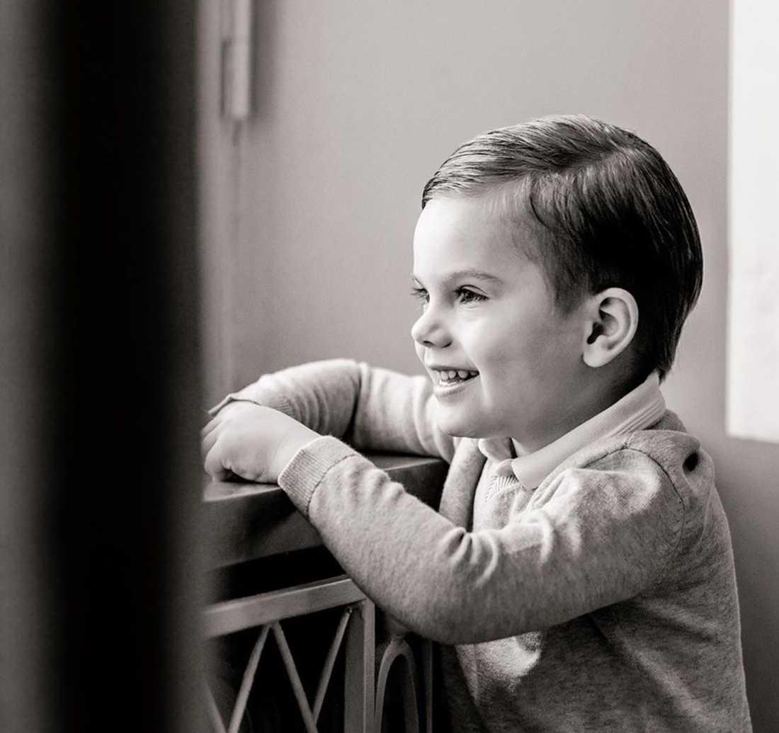 I dag fyller prins Oscar fyra år