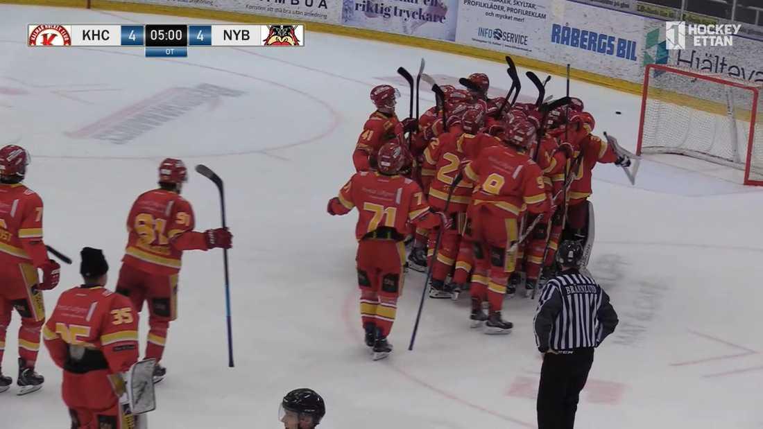 Kalmar HC är klart för playoff till Allsvenskan efter segern mot Nybro.