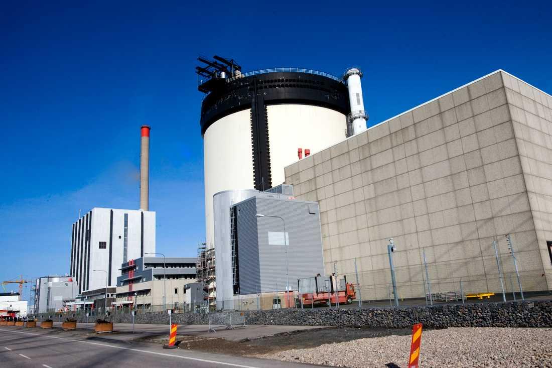 Ringhals kärnkraftverk utanför Varberg. Arkivbild.