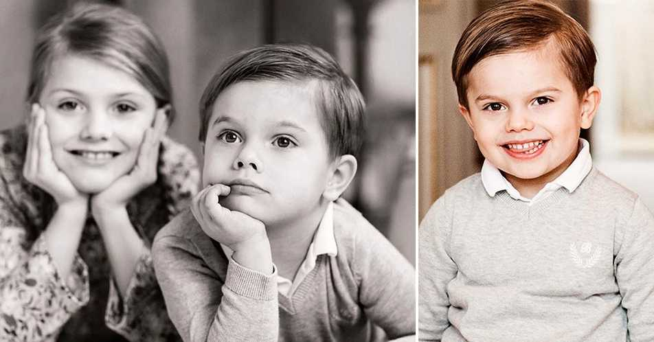 Grattis till prins Oscar som fyller fyra