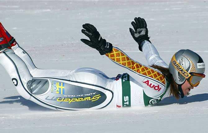 Sälen Ytterligare ett VM-guld blev det 2003, i St Moritz storslalom.