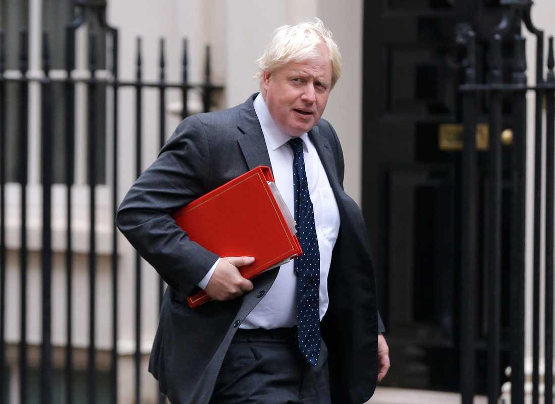 Dem brittiske före detta utrikesministern och Londonborgmästaren Boris Johnson vill gärna bli premiärminister och ledare för Konservativa partiet.