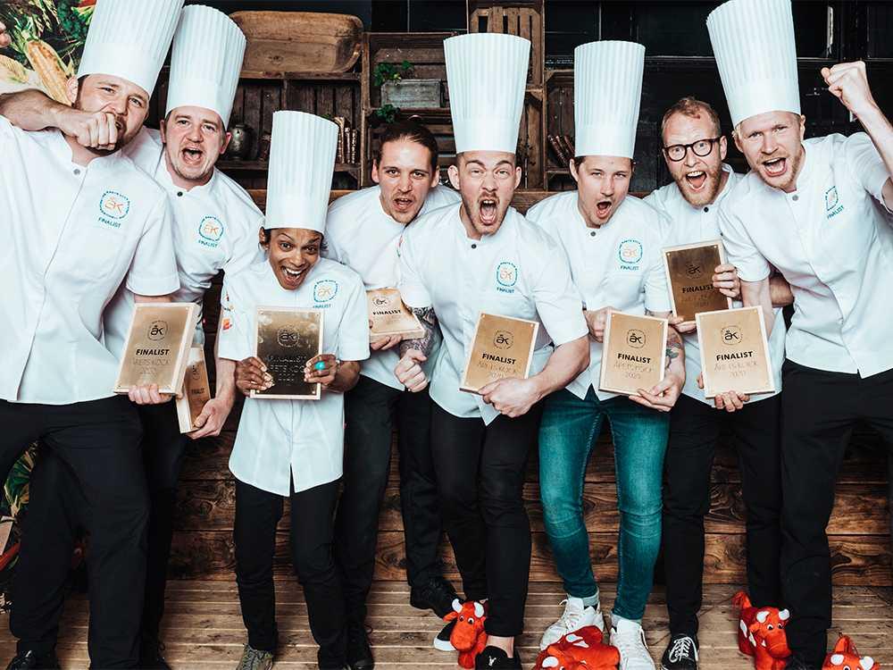 Finalisterna i Årets kock 2020 klara.  Den 17 september utses vinnaren.