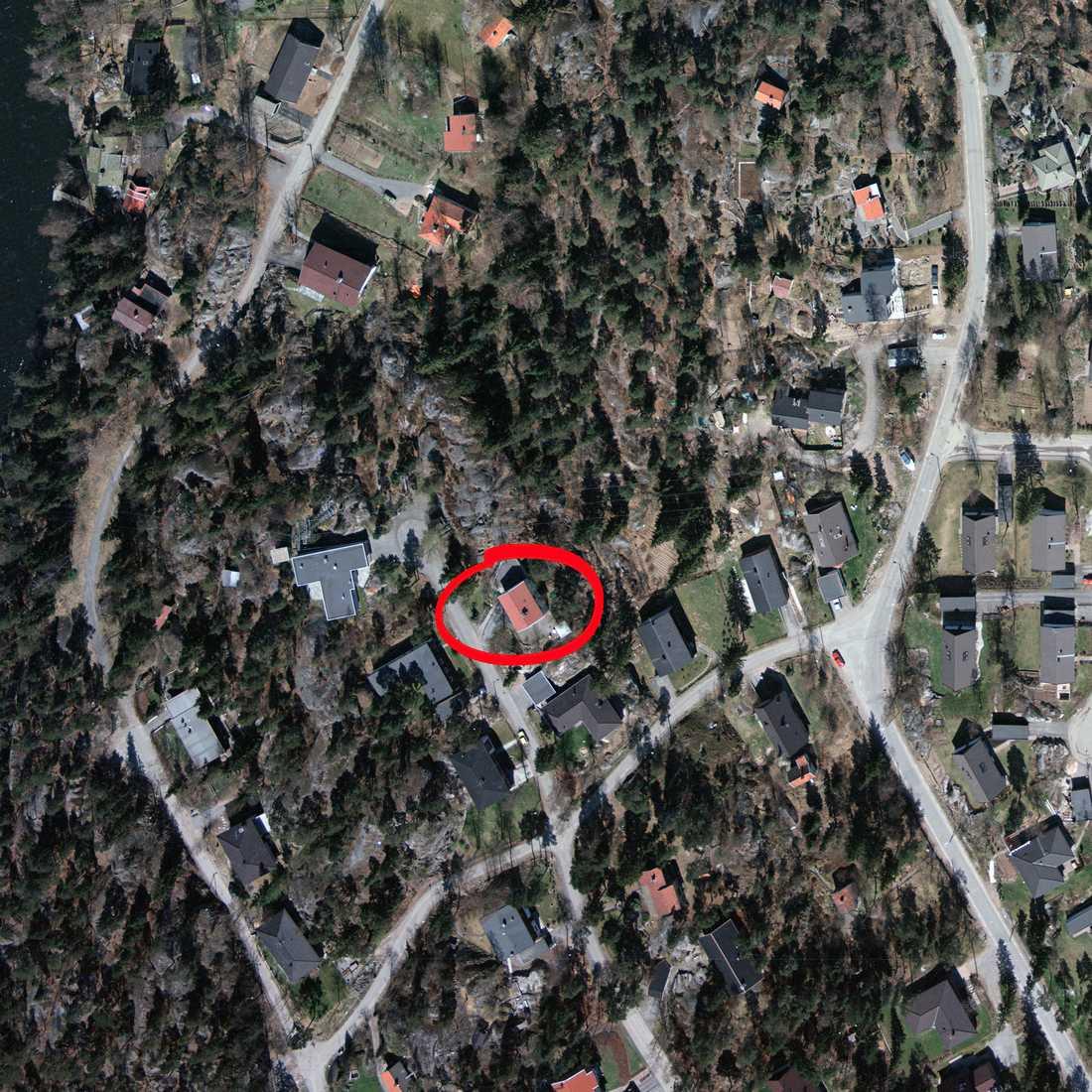 KGB-agenternas hus låg mitt i villaidyllen.