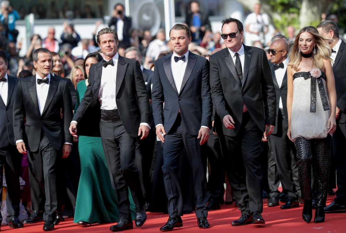 Kändisar på röda Cannes filmfestival.