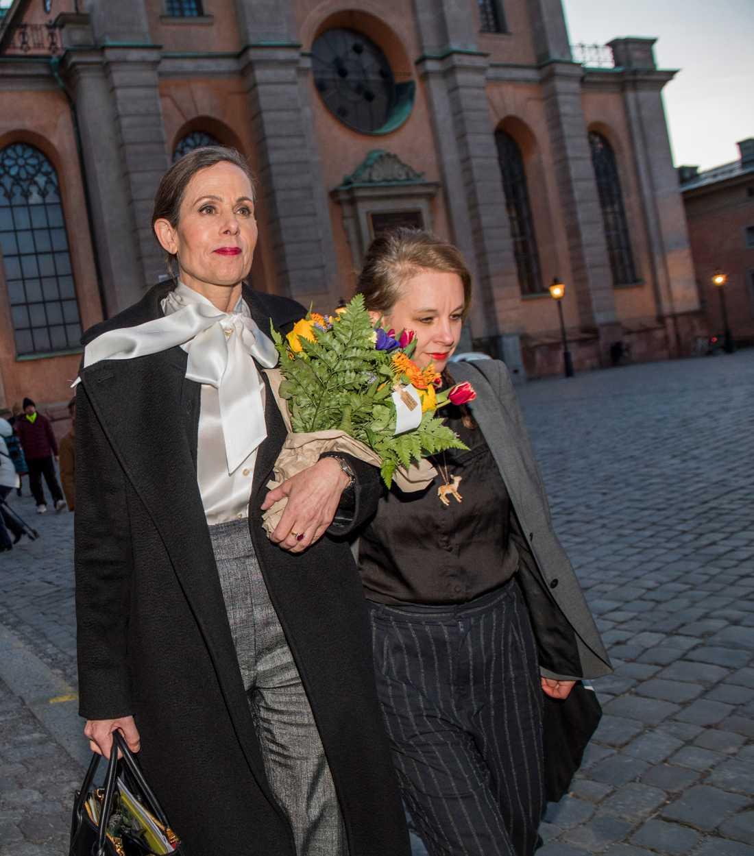 I går lämnade Sara Danius uppdraget som ständig sekreterare och hoppade av Svenska Akademien.