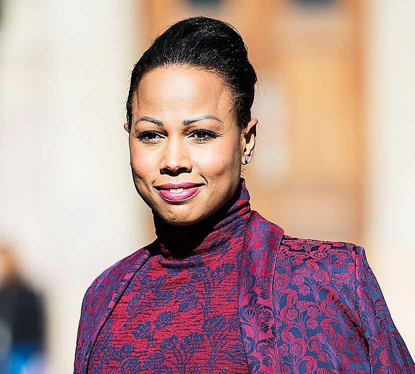 Kulturministern Alice Bah Kuhnke.