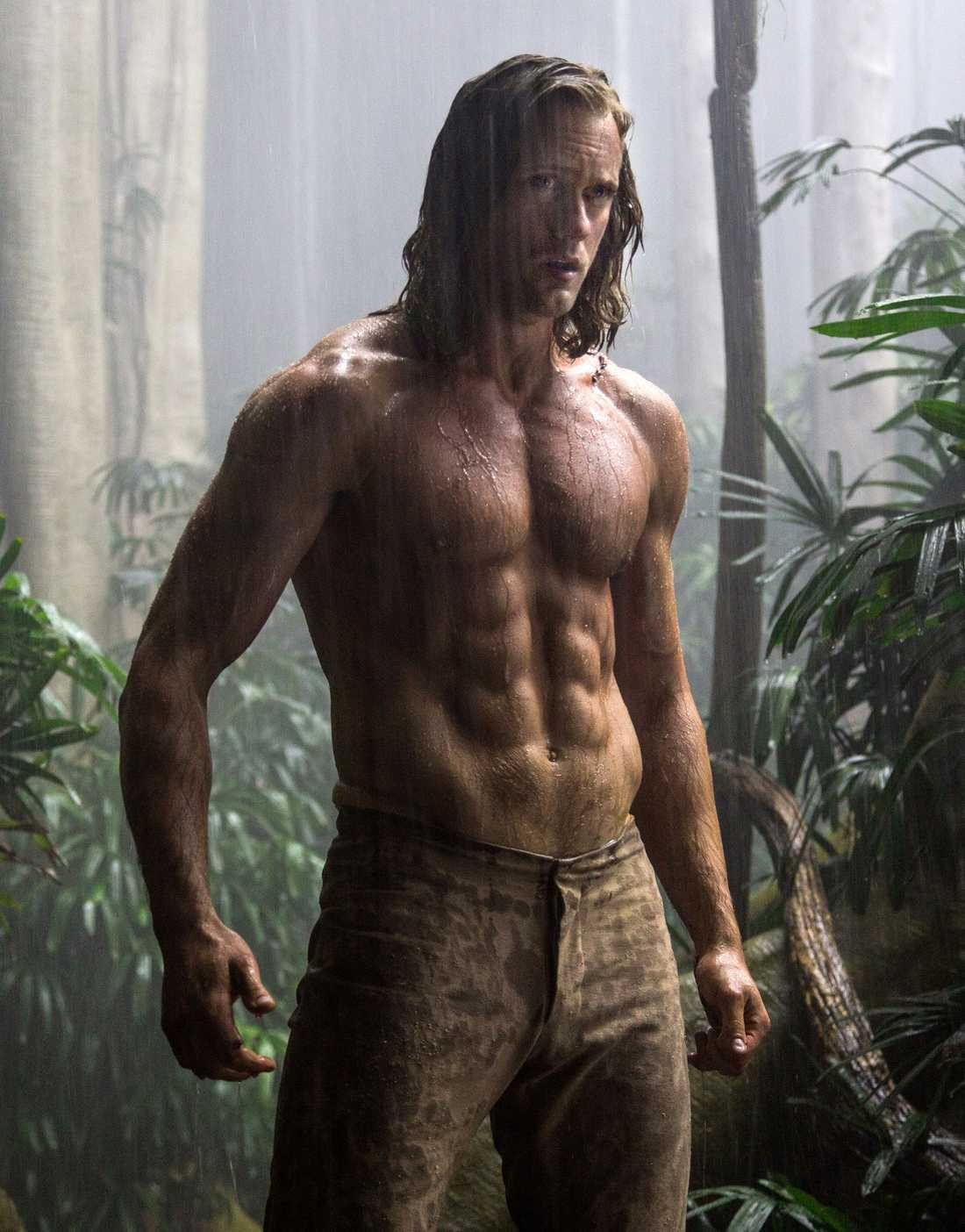 Alexander Skarsgård som Tarzan.