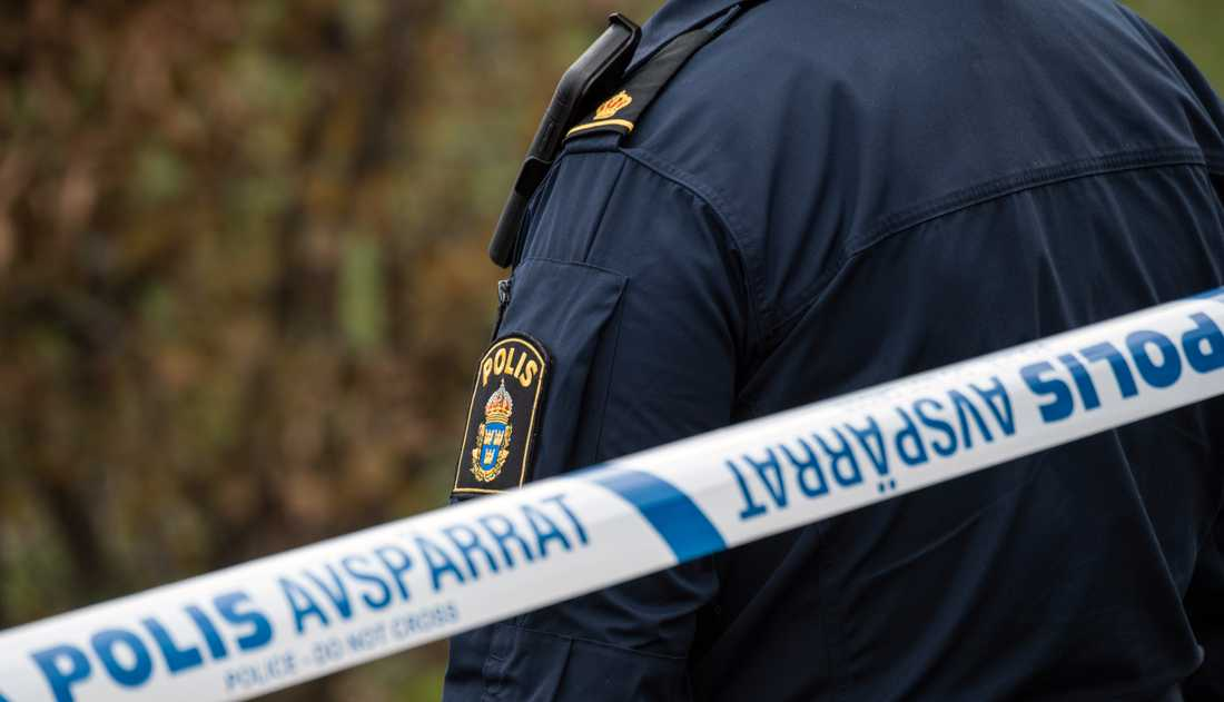 Drönarpiloter kan hjälpa till att avslöja två våldsmän, hoppas polisen. Arkivbild.
