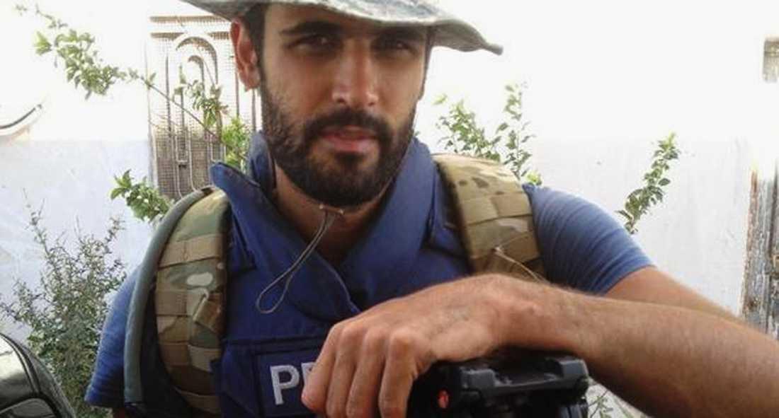 Samir Kassab, tv-fotograf som arbetar för Sky News arabiska service kidnappades i mitten av oktober.