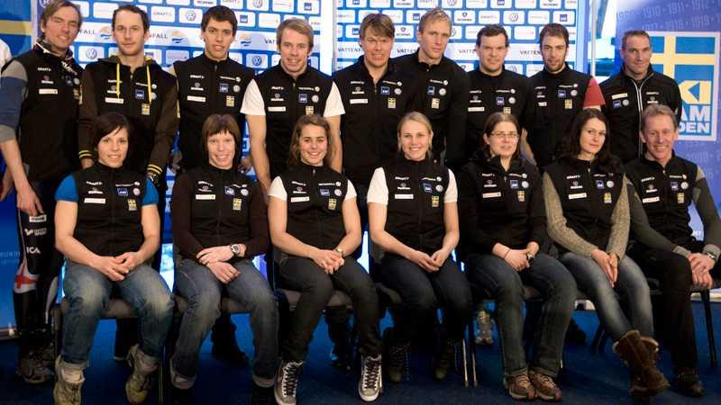 Det svenska VM-laget.