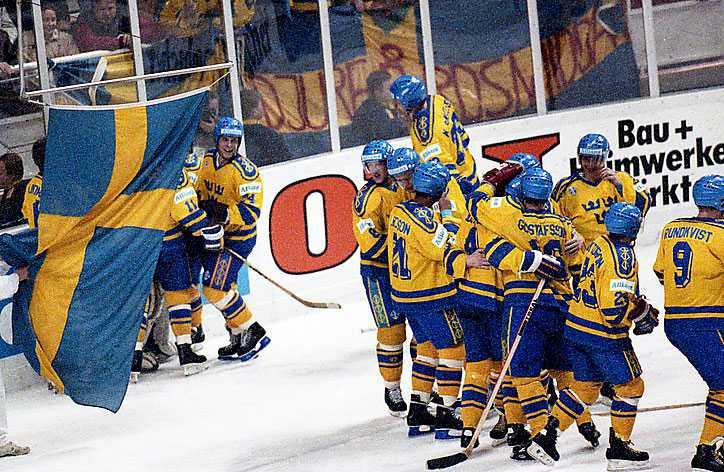 Tre Kronor i VM 1991