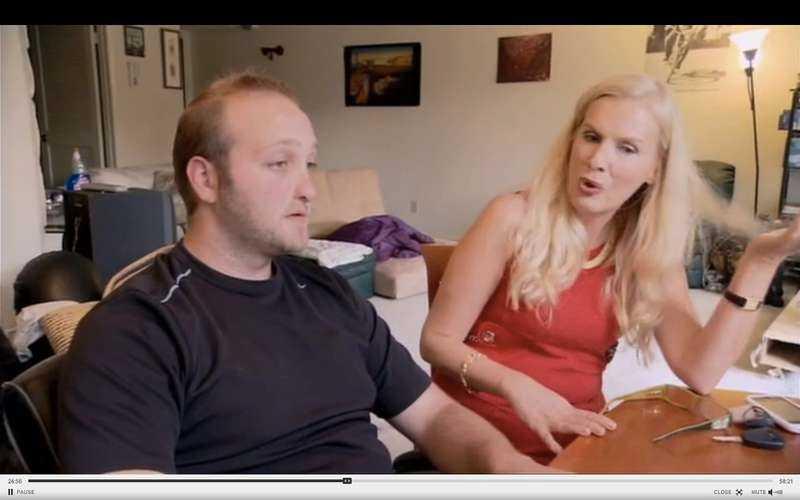 Gunilla Persson är oense med både producenten David och Hollywoodfrun Margareta.