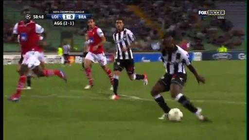 Supermissen som skickade ut Udinese