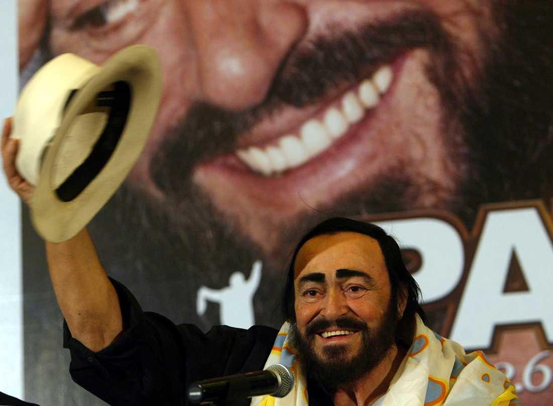 Pavarotti avled på torsdagsmorgonen.