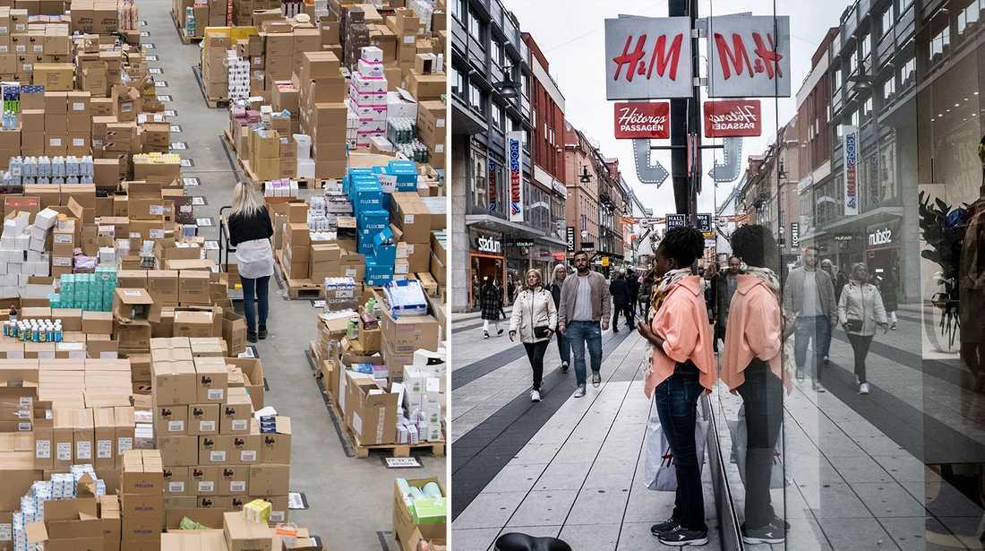 En ny rapport visar hur svenskarna handlar.