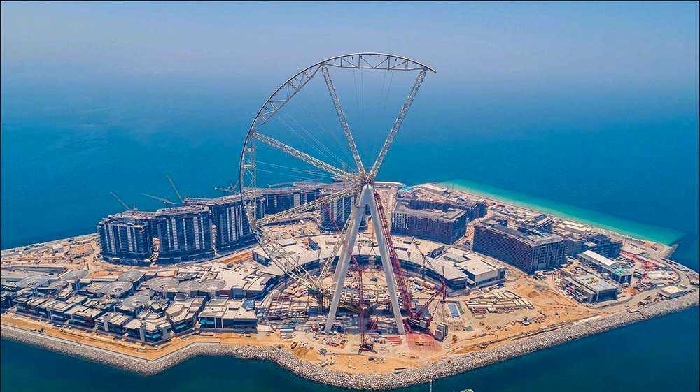 Världens högsta pariserhjul byggs i Dubai