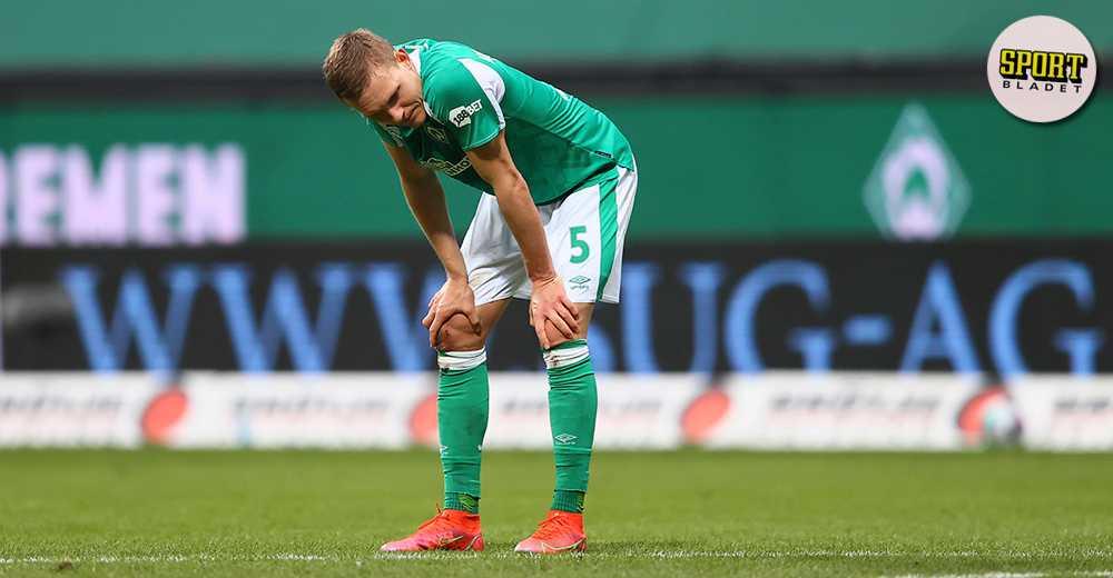 Augustinsson borta på grund av skada
