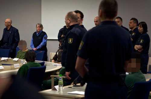 I dag inleddes rättegången mot de åtta män som misstänks för gruppvåldtäkten.