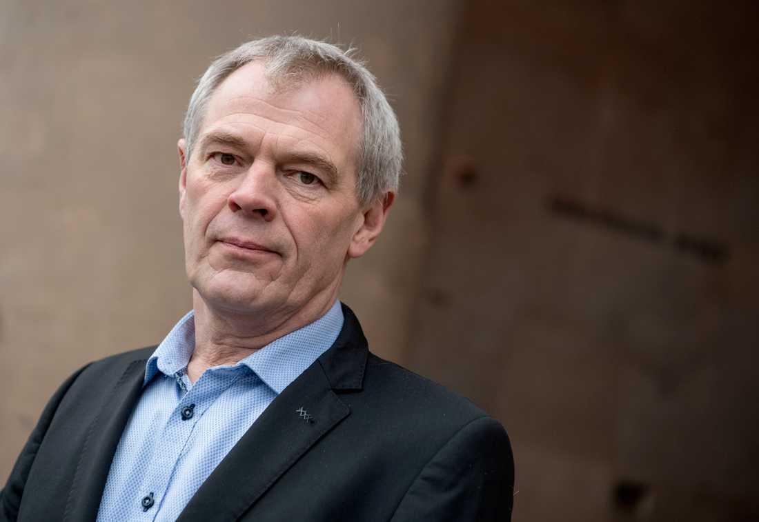 Polischefen Jens Møller Jensen utreds för brott mot tystnadsplikten efter att ha skrivit en bok om utredningen av mordet på Kim Wall. Arkivbild.