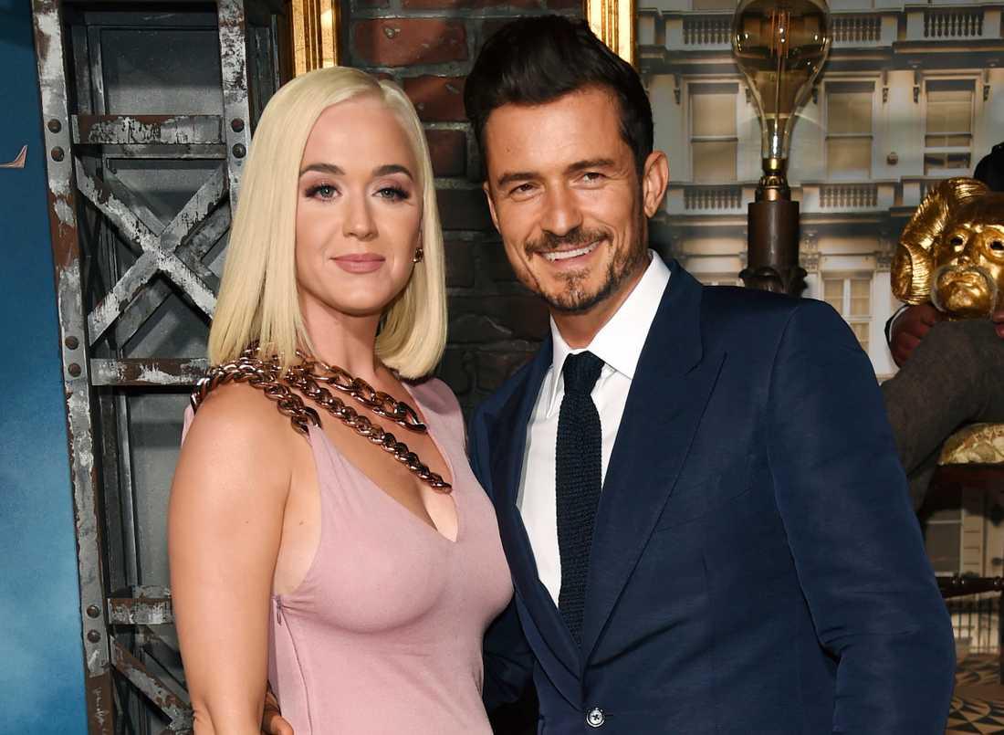 Katy Perry och Orlando Bloom.
