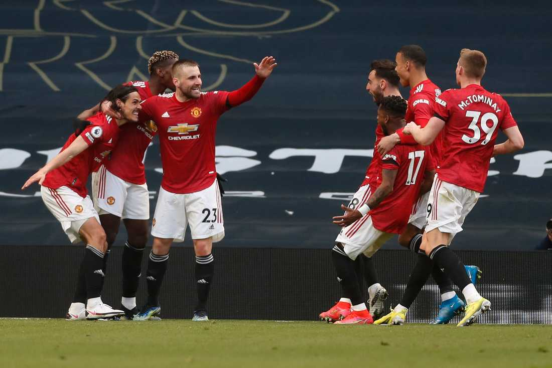 United firar 2–1-målet borta mot Tottenham.