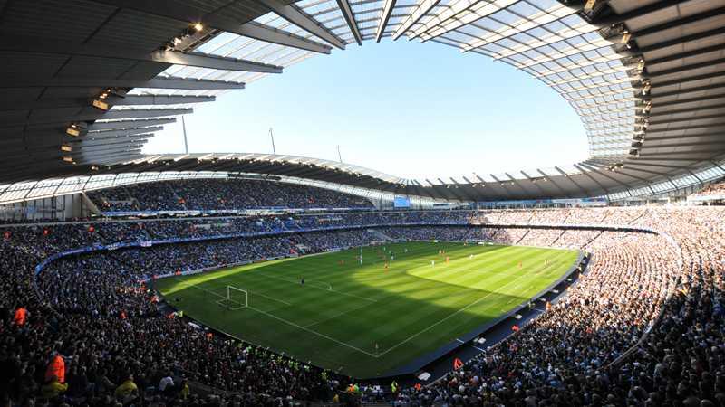 Manchester City möter Liverpool på hemmaarenan 9 september.