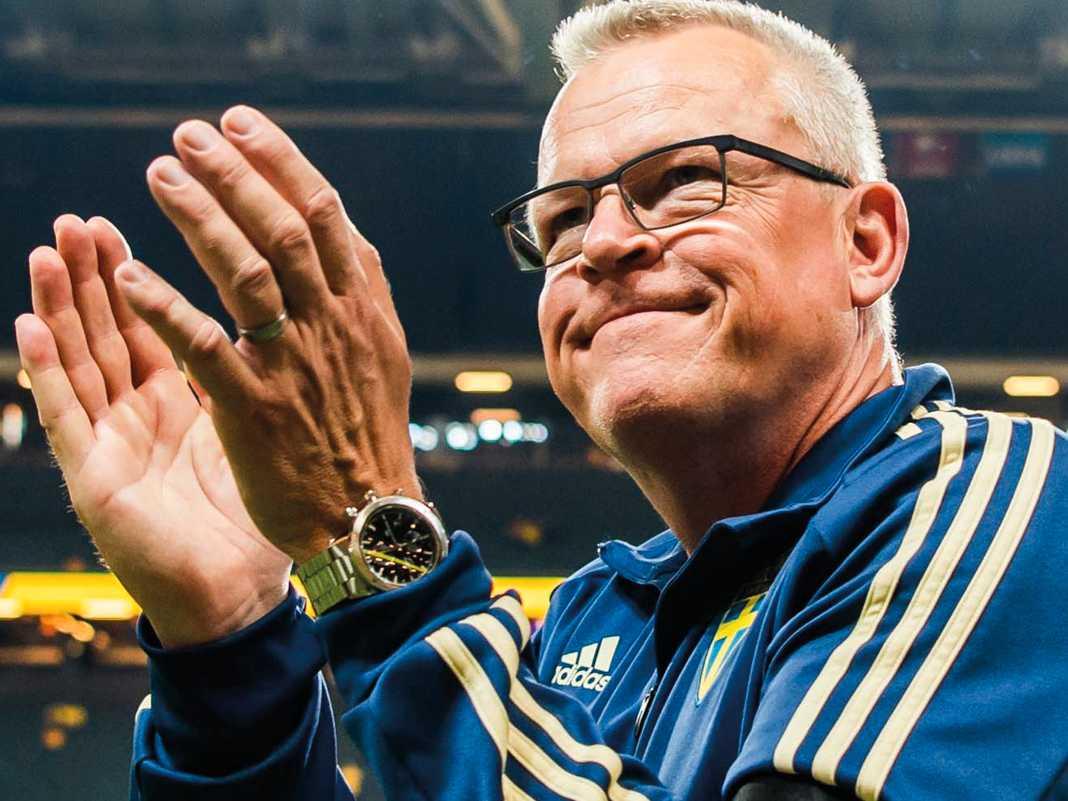 Janne Andersson har förlängt kontraktet