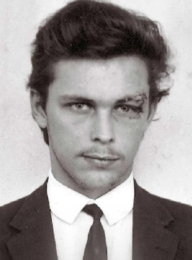 Unge Clark Olofsson.