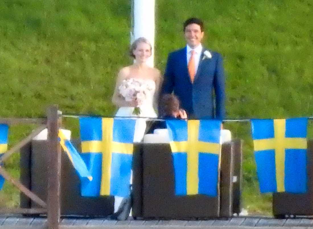 Maria Mareinsdotter och Andre Heinz