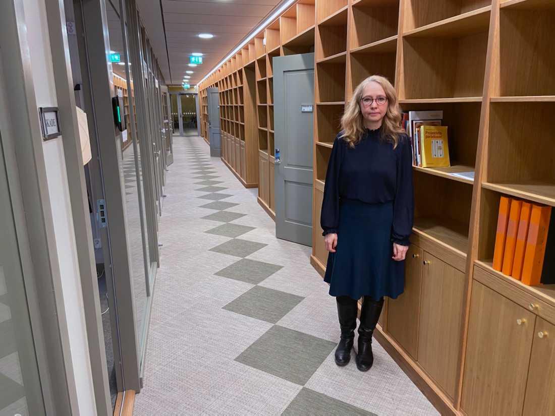 Cecilia von Heijne, museichef för Kungliga myntkabinettet i Stockholm.