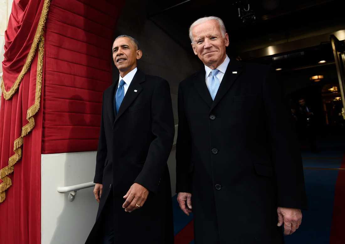 Obama och Biden tidigare i år.