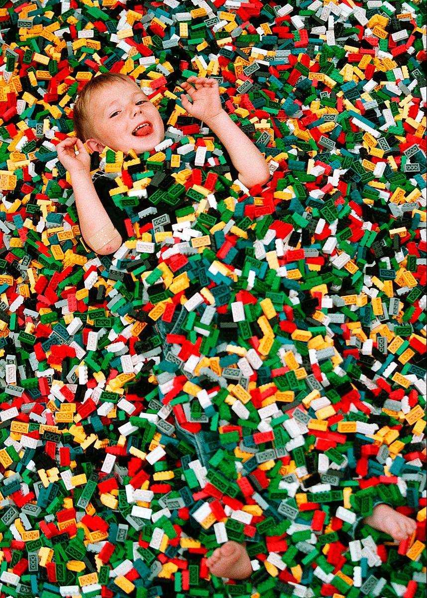 Att drunkna i Lego är inte lika vanligt