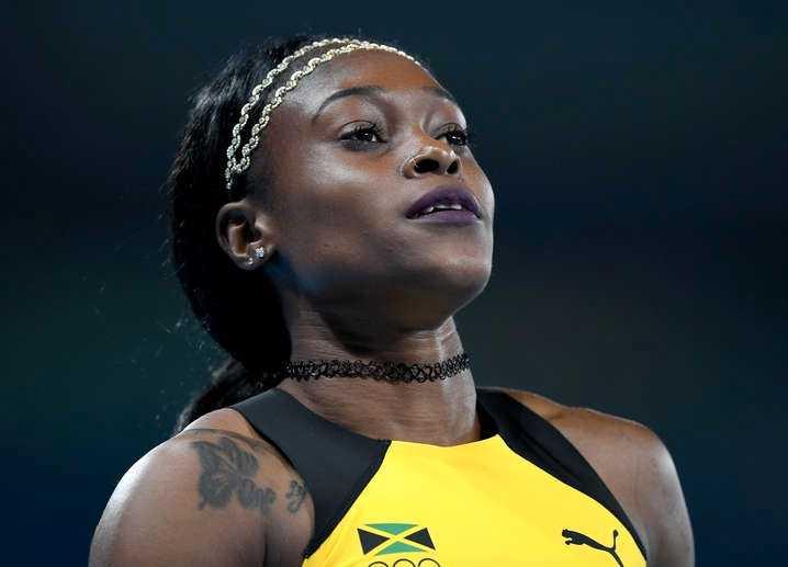 Elaine Thompson vann finalen på 100 meter.
