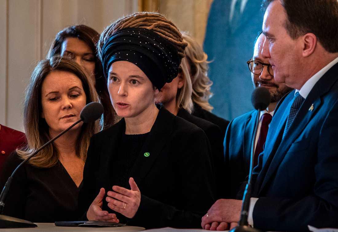 Amanda Lind, ny kulturminister.
