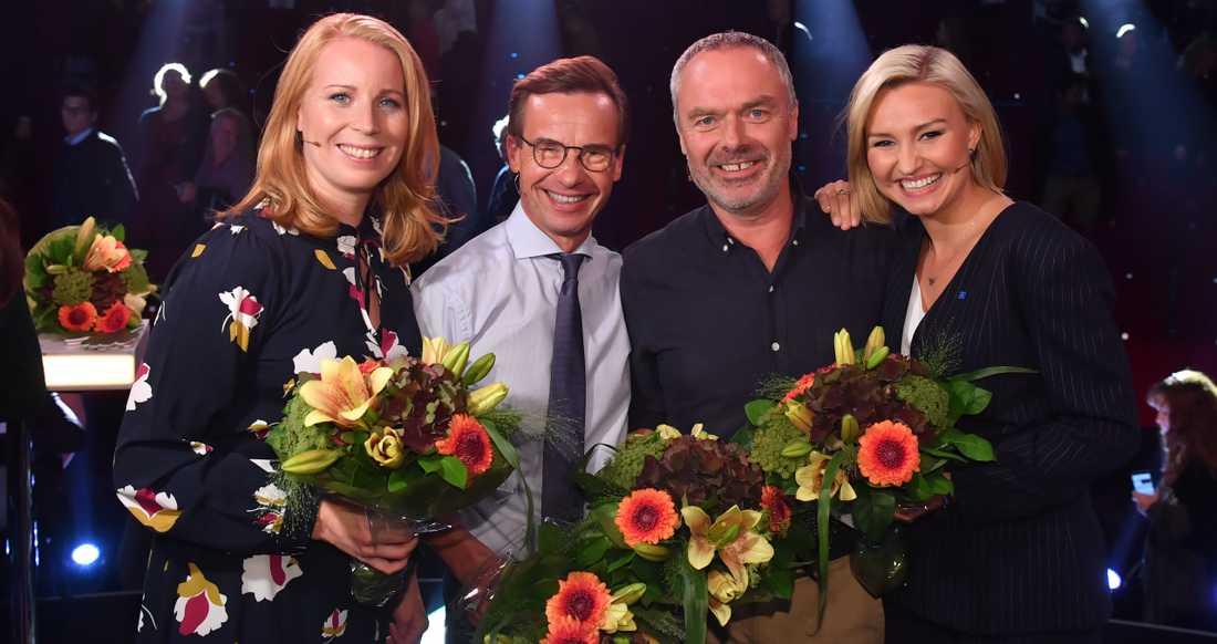 Alliansens partiledare efter Aftonbladets debatt.