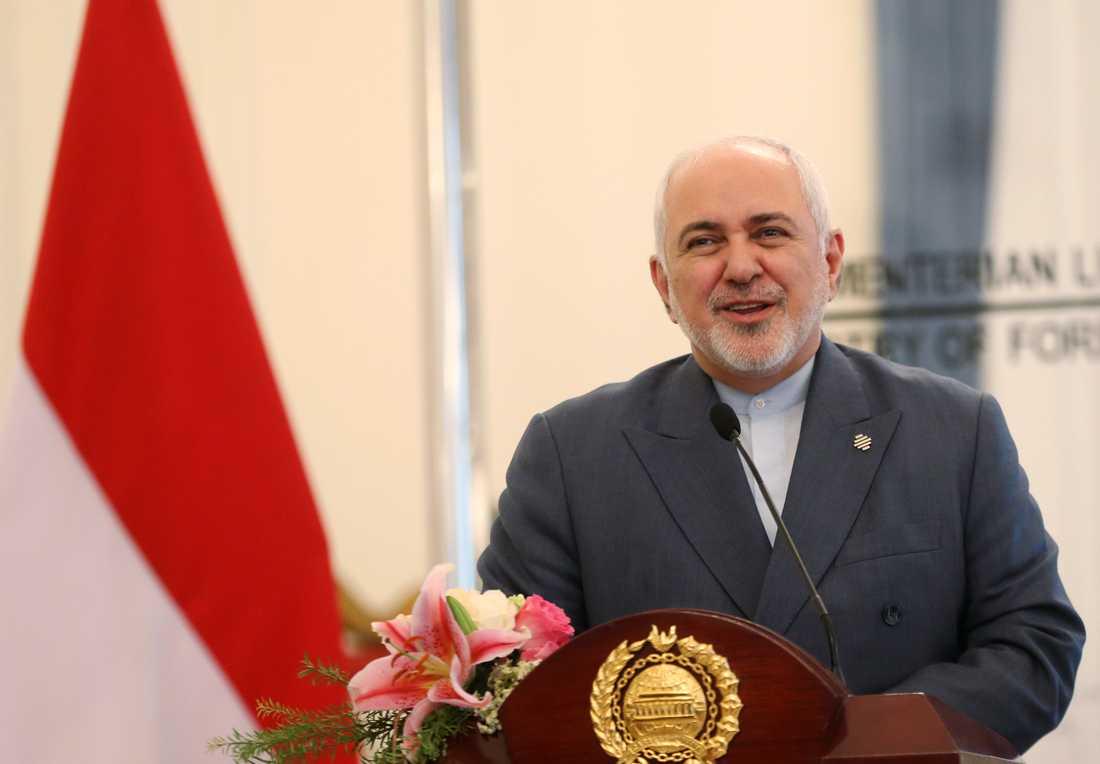 Irans utrikesminister Mohammad Javad Zarif. Arkivbild.
