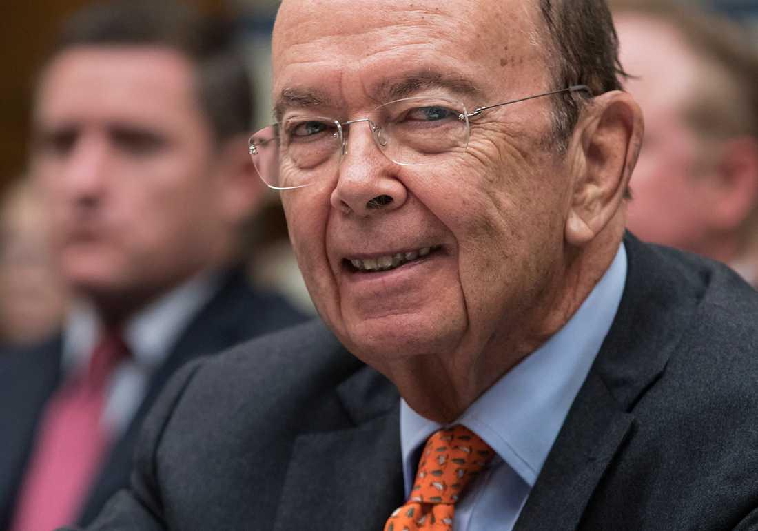 USA:s handelsminister Wilbur Ross.