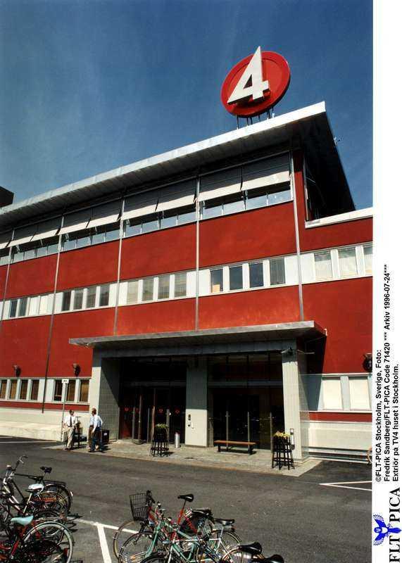 STÄNGT TV4-huset i Stockholm, lokalredaktionen här lades ner redan i höstas.