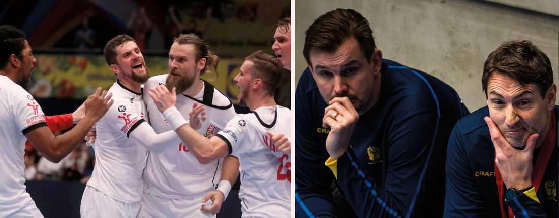 Tjeckien har drabbats av åtta coronafall inför matchen mot Sverige.