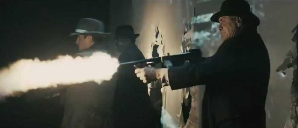 Filmen som innehåller en hel del våldsamma scener klipptes om efter dödsskjutningarna i Aurora, Denver.